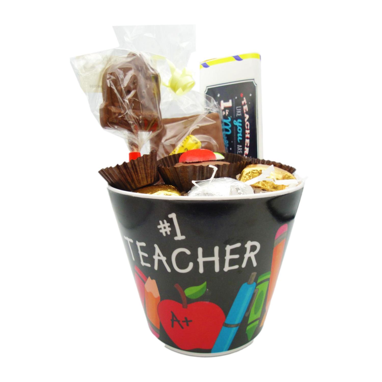 #1 teacher bucket