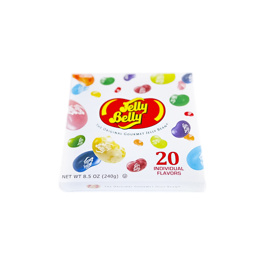 20 flavor jelly belly