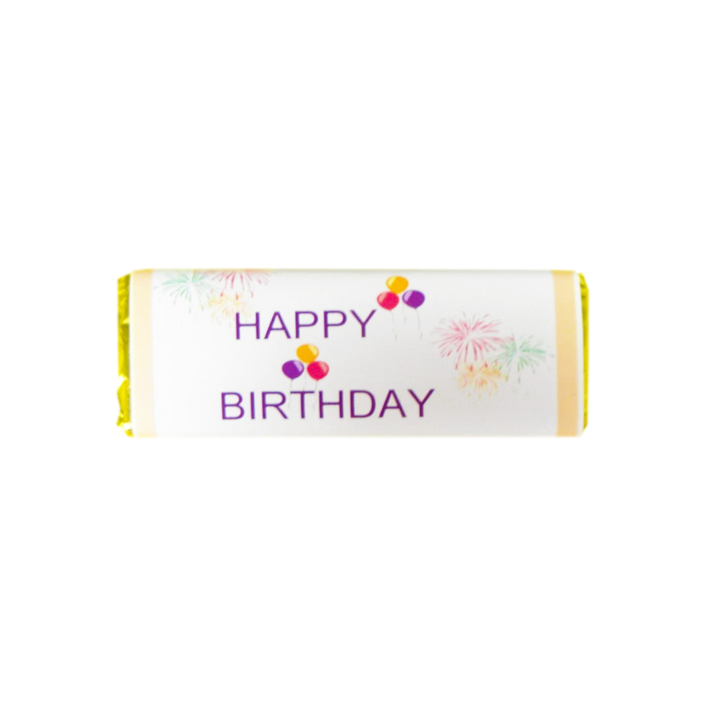 birthday candy bars