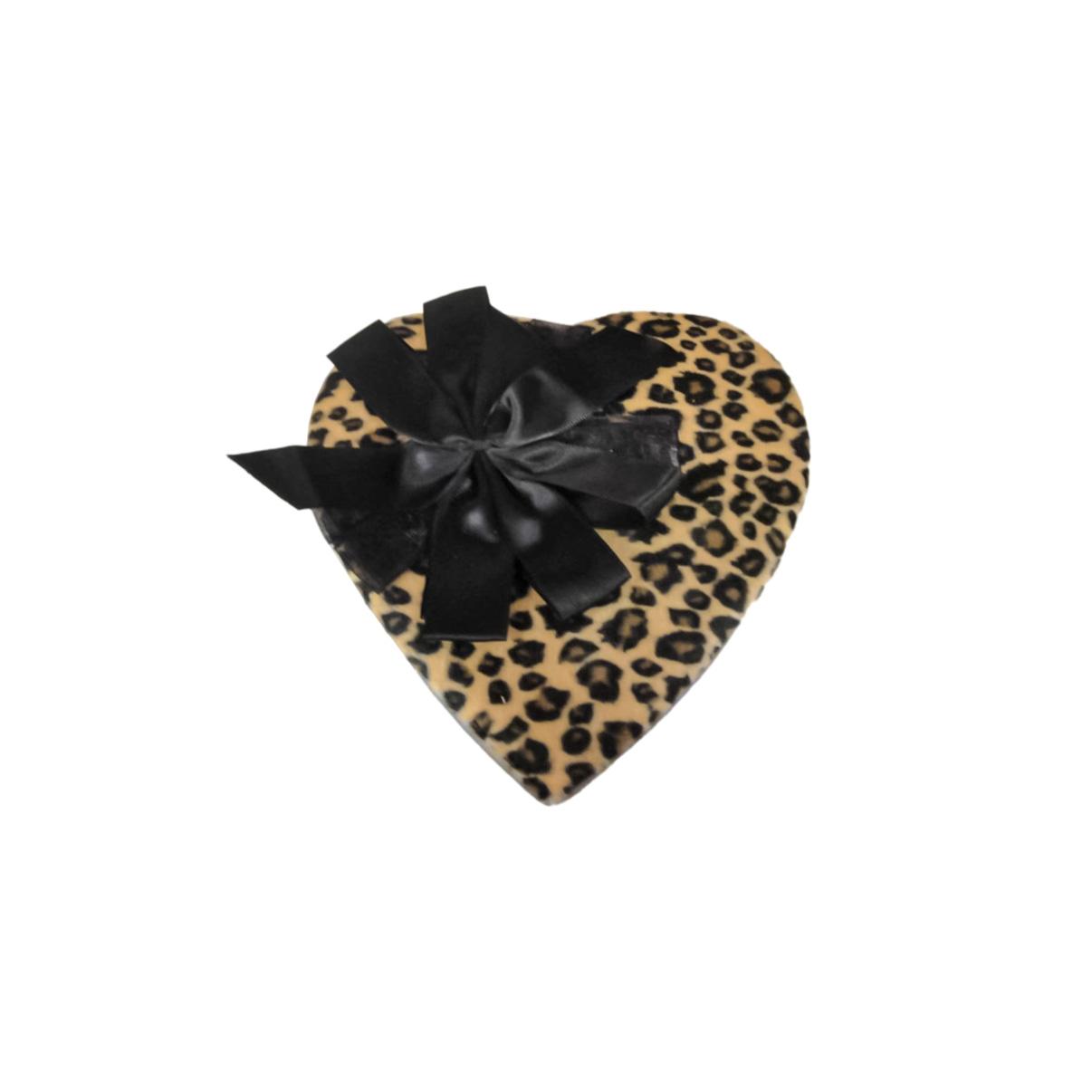 cheetah print with bow
