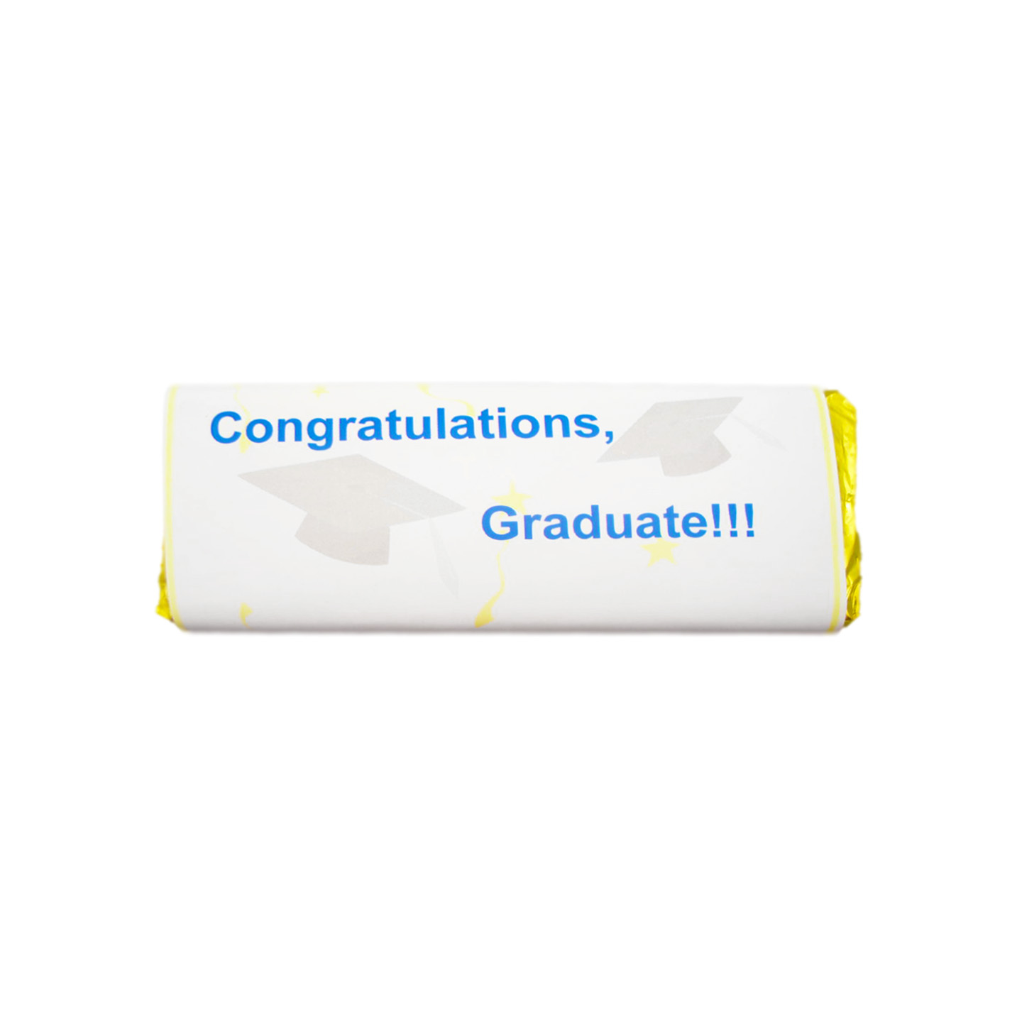 congrats graduate mortar board candy bar