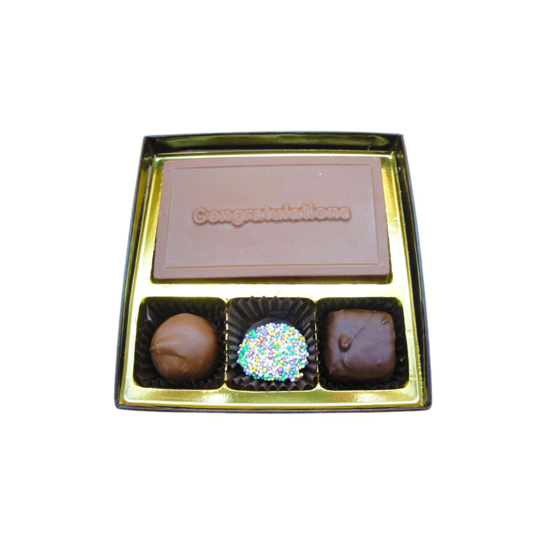congratulations 4 pc gift box