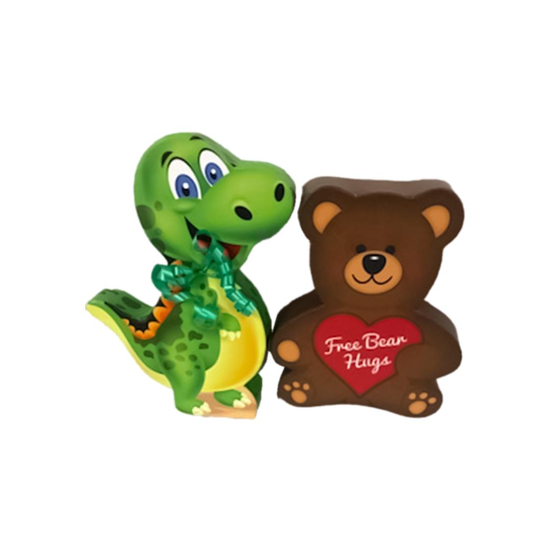 dinosaur or teddy bear gift box