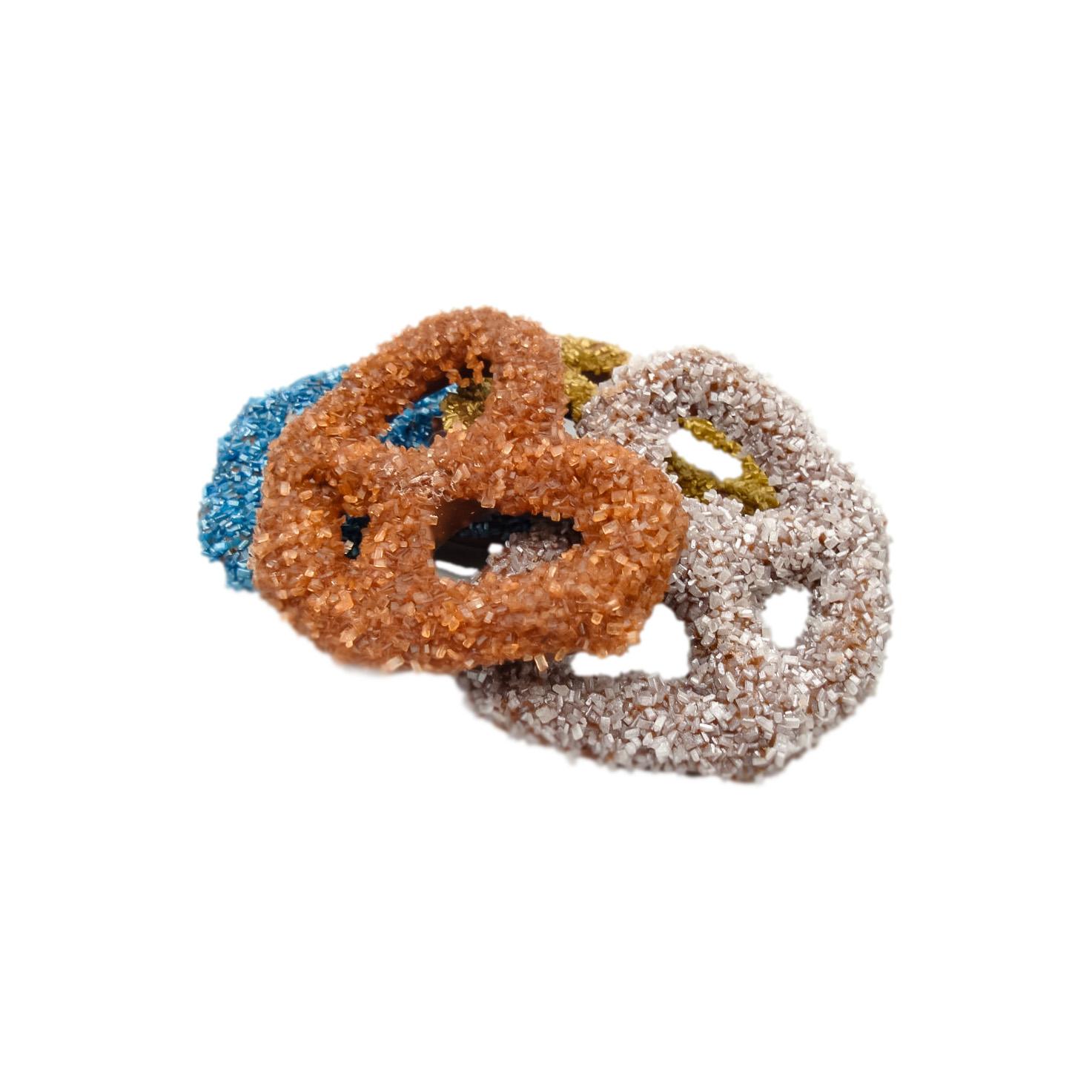 glitter pretzels