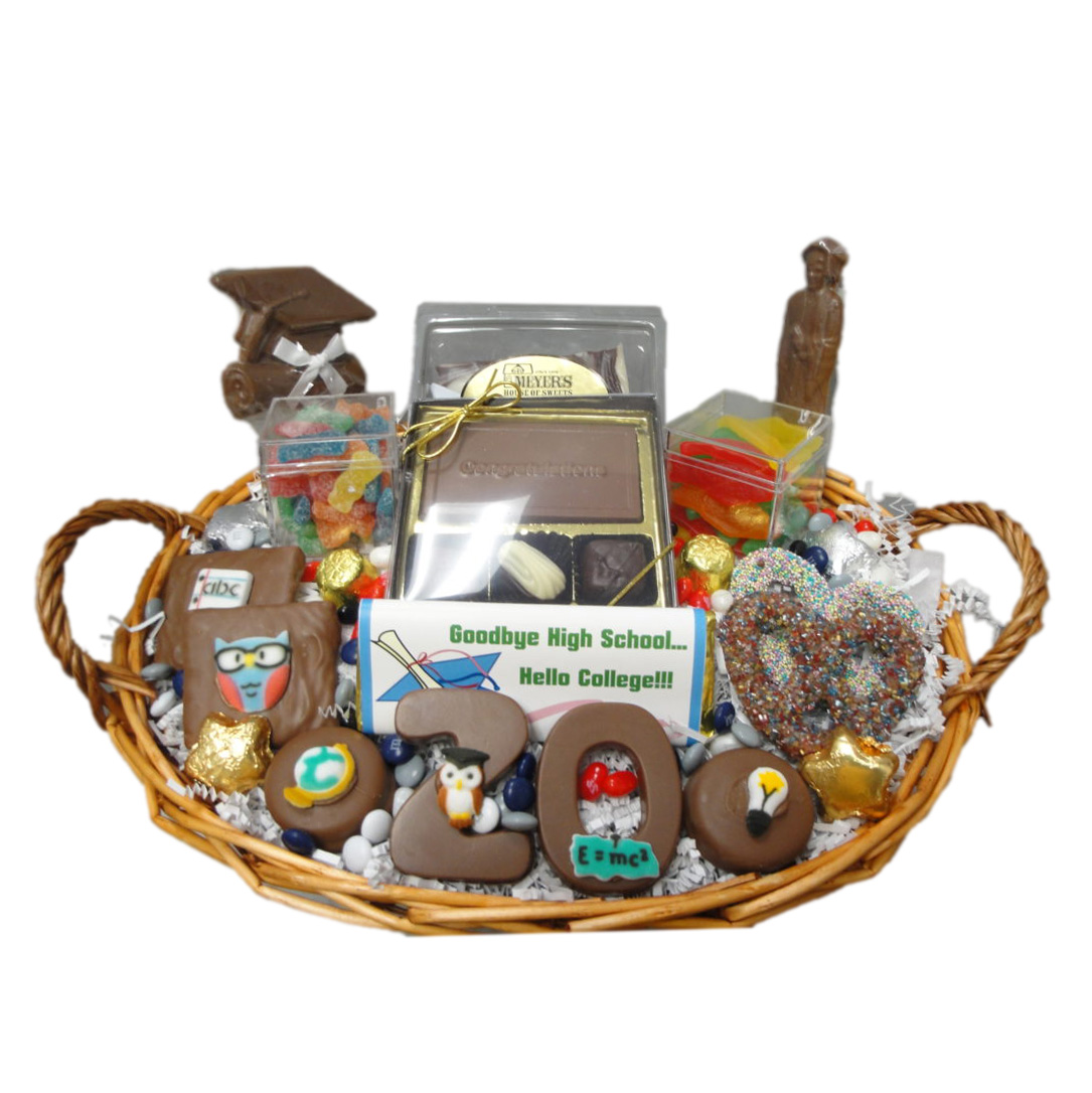 graduation basket – large