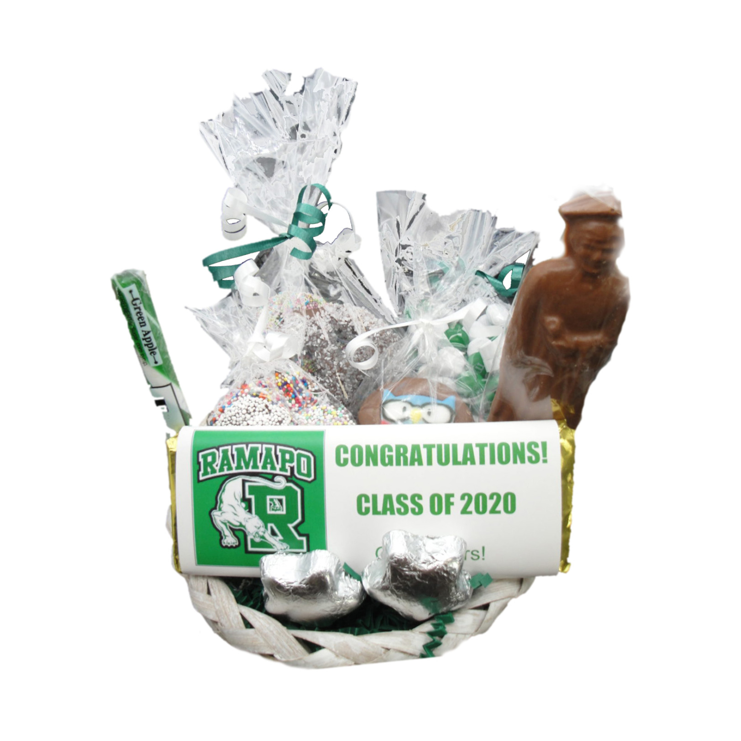 graduation basket – small wicker 2