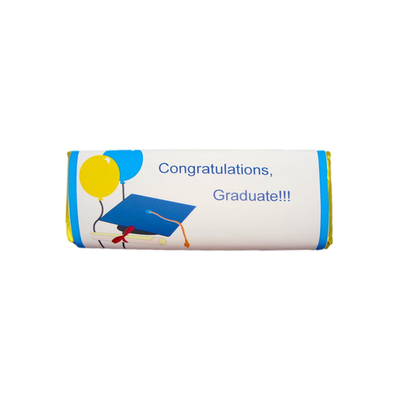 graduation candy bar balloons&mortar