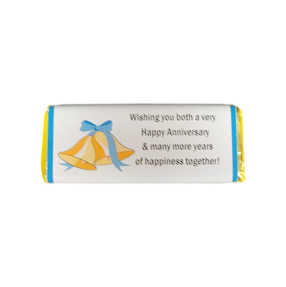 happy anniversary candy bar