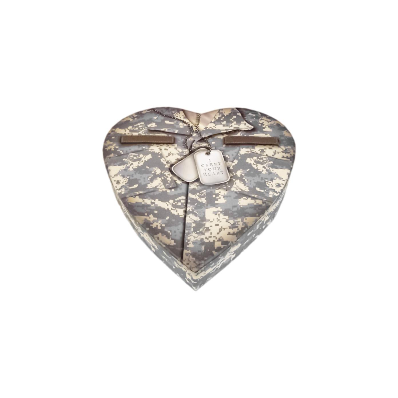 military heart