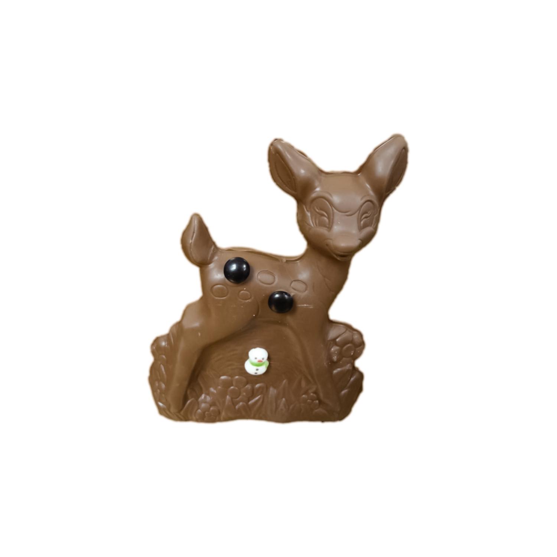 milk chocolate hollow reindeer 8oz