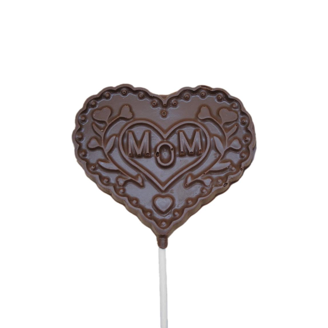mom heart lollipop