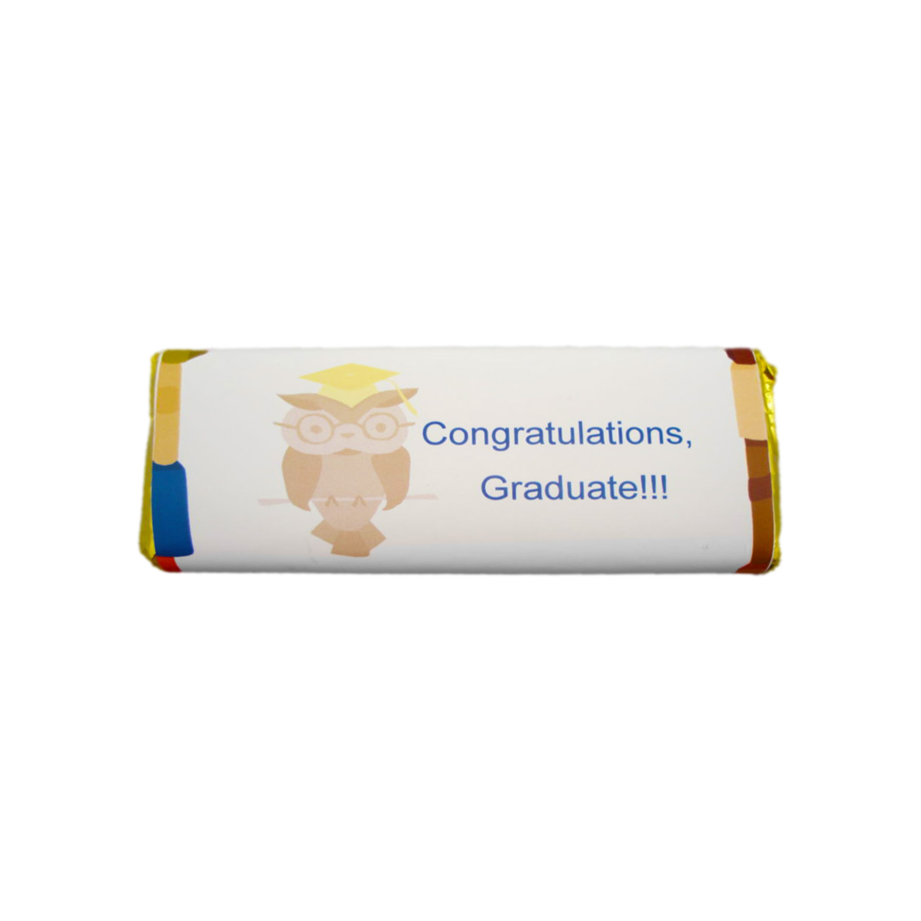 owl graduation candy bar