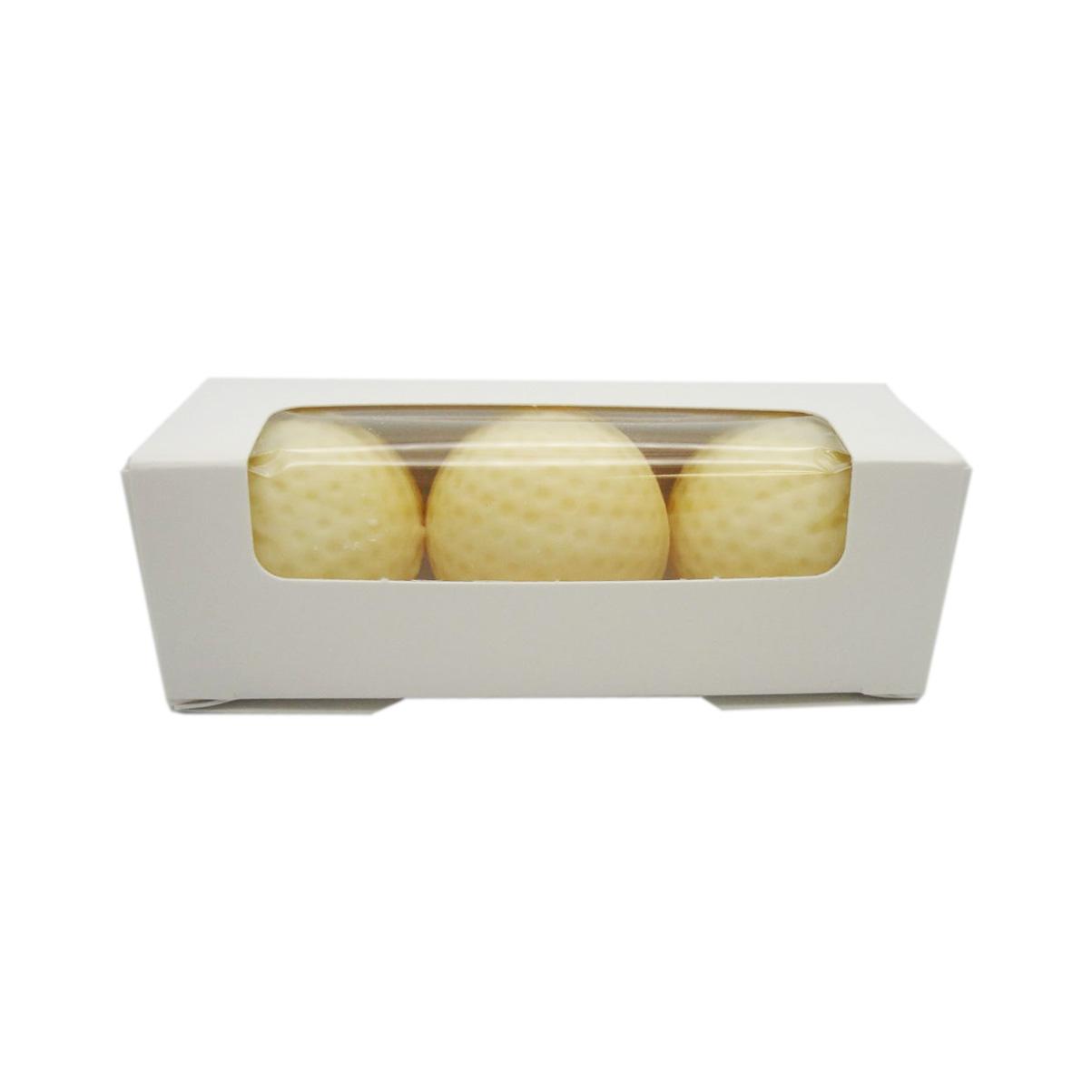 sleeve of chocolate golf balls 4