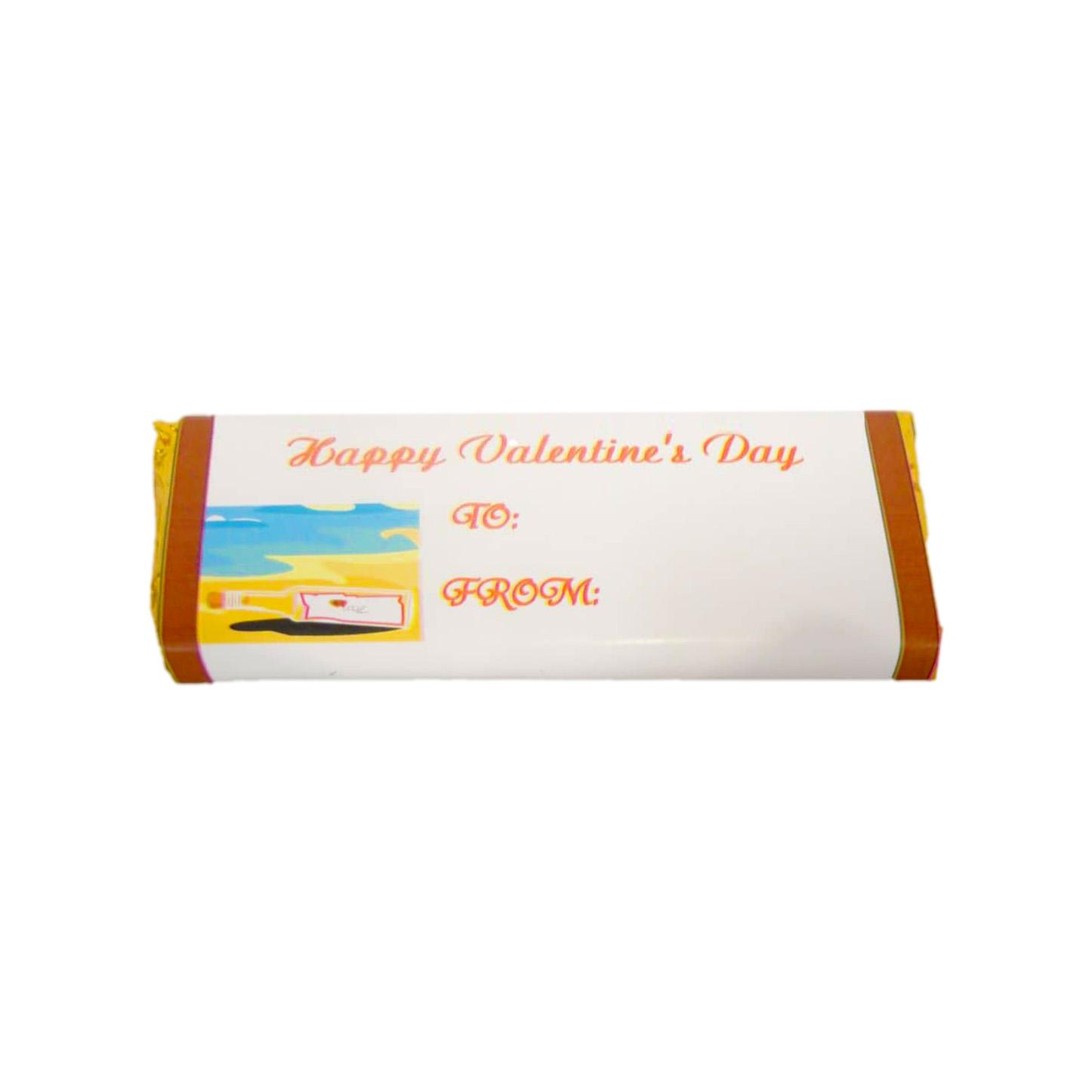 valentines candy bar
