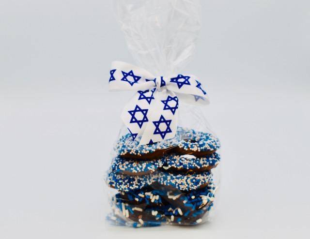 hanukkah pretzels